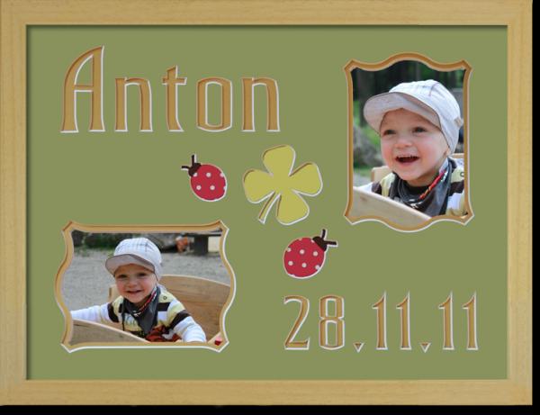 Anton Rahmen klein mit Bucherahmen neu