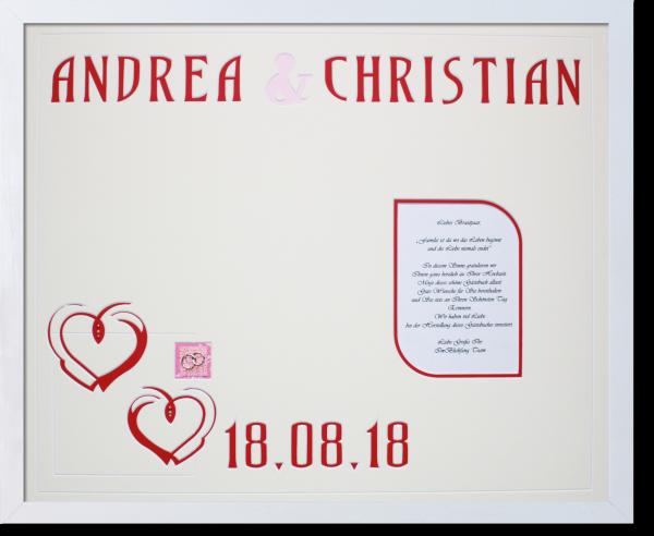 Gästebuch Andrea und Christian