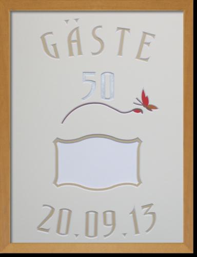 Gästebuch zum 50