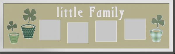 Little Family mit Blumentöpfen neu