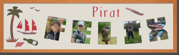Pirat Felix neu mit Bildern neu