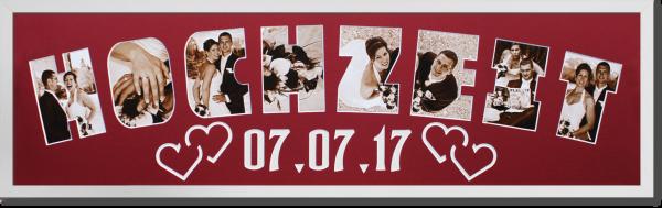 Rahmen lang Hochzeit