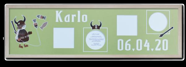 Rahmen_75x21cm_Leiste_natur_Karlo