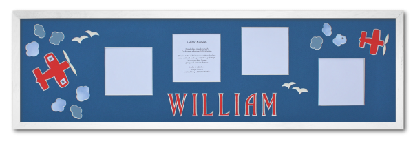 Rahmen_75x21cm_Leiste_weiß_William
