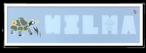 Rahmen_75x21cm_Leiste_weiß_Wilma